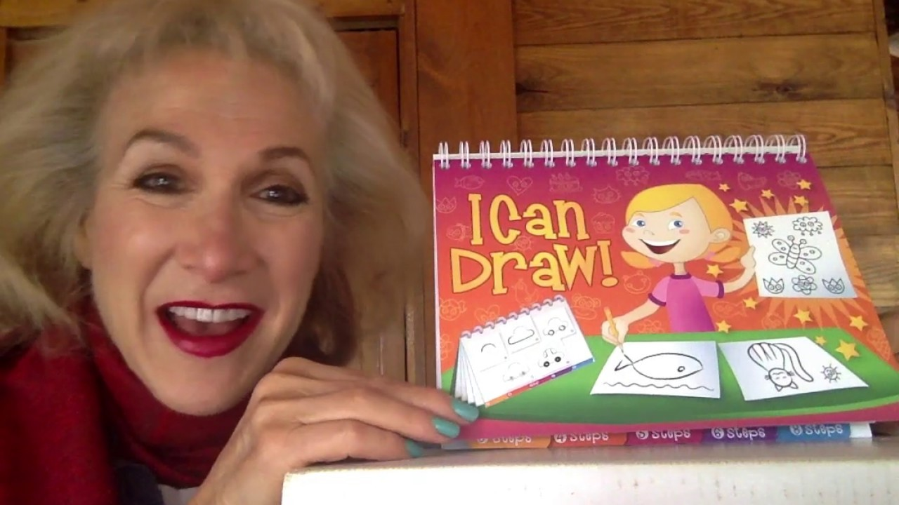 Help children expand their journal pictures with the I Can Draw flip book!